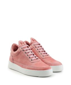 Filling Pieces | Fundament Low Top Suede Sneakers Gr. Eu 36