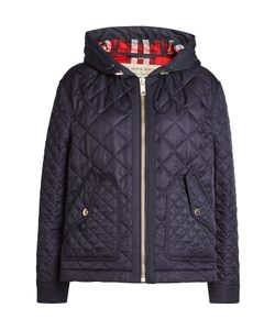 Burberry London | Quilted Jacket With Hood Gr. M