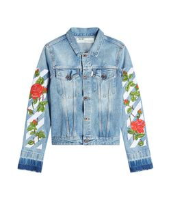 Off White | Printed Denim Jacket Gr. L