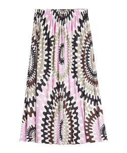 Emilio Pucci | Printed Maxi Skirt With Silk Gr. It 44