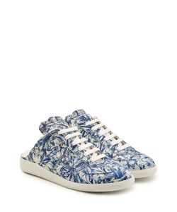Maison Margiela | Printed Leather Trainers Gr. It 40