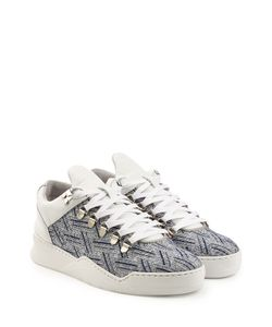 Filling Pieces | Mountain Cut Platform Sneakers With Leather Gr. Eu 39