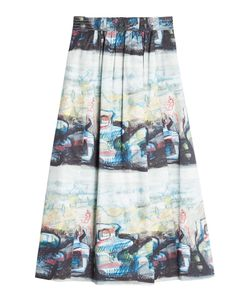 Burberry London | Kindle Printed Midi Skirt Gr. Uk 10