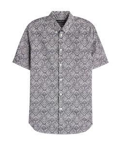 Alexander McQueen | Printed Cotton Short Sleeved Shirt Gr. Us/Uk 15 3/4