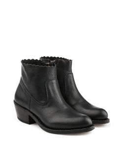 Fiorentini+Baker | Rocker Leather Ankle Boots Gr. It 35
