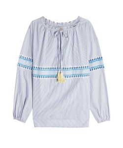 Lemlem | Embroidered Blouse With Cotton Gr. S