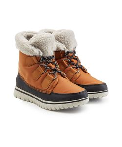Sorel | Cozy Carnival Suede And Rubber Short Boots Gr. Us 10