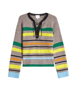 Lala Berlin | Striped Pullover With Cotton Gr. M