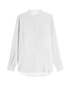 Victoria Beckham | Striped Silk Blouse Gr. Uk 10
