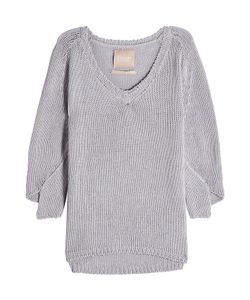 81 Hours by Dear Cashmere | Pullover With Cotton And Linen Gr. S
