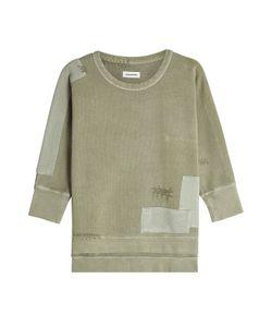 Zadig & Voltaire   Patchwork Cotton Sweatshirt Gr. Xs