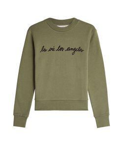 Etre Cecile | Printed Cotton Sweatshirt Gr. L