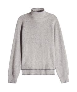Lala Berlin | Layered Turtleneck Pullover With Wool Gr. S