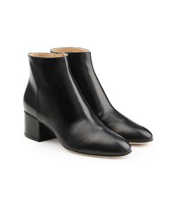 Sergio Rossi | Leather Ankle Boots Gr. It 41