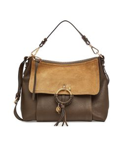 See By Chloe | Leather And Suede Shoulder Bag Gr. One Size