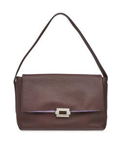 Jil Sander | Refold Medium Leather Shoulder Bag Gr. One Size