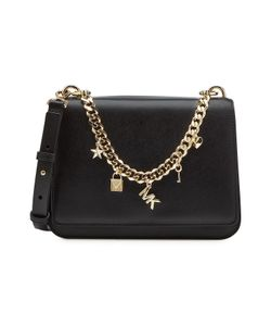 Michael Michael Kors | Leather Shoulder Bag With Embellished Chain Gr. One Size