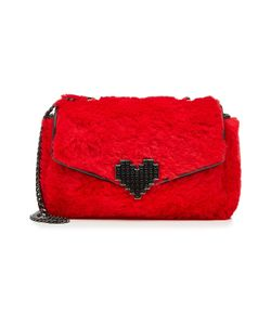 Les petits joueurs | Fur And Leather Cross-Body Bag Gr. One Size