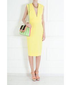 Victoria Beckham | Платье Из Шелка И Хлопка