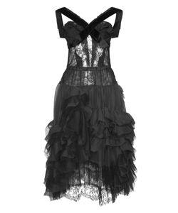 Nina Ricci | Черное Платье С Драпировками