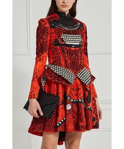 Mary Katrantzou   Шелковое Платье