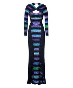 Peter Pilotto | Платье В Пол Из Вискозы С Принтом