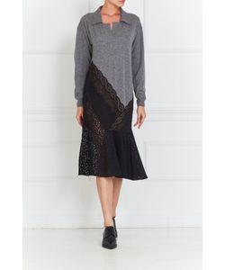 Stella Mccartney | Платье Из Вискозы И Шелка