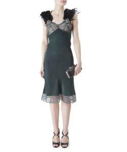 Erickson Beamon   Шелковое Платье