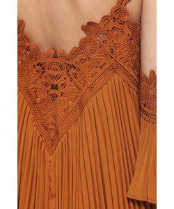 SELF-PORTRAIT | Плиссированное Платье