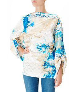 Balmain | Шелковая Блуза С Принтом
