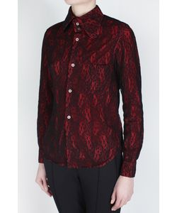 Comme Des Garcons | Рубашка Из Искусственного Шелка