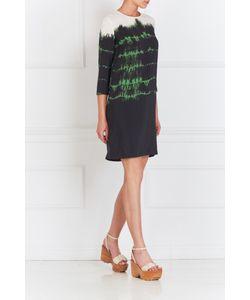 Stella Mccartney | Шелковое Платье С Принтом