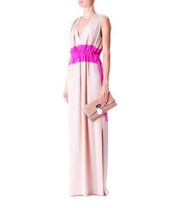 Thakoon | Платье В Пол С Яркой Вставкой