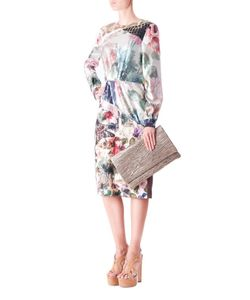 Preen | Платье С Принтом И Пайетками