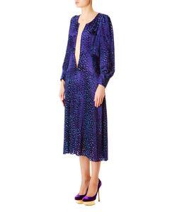 Junya Watanabe | Платье Из Вискозы С Глубоким Декольте