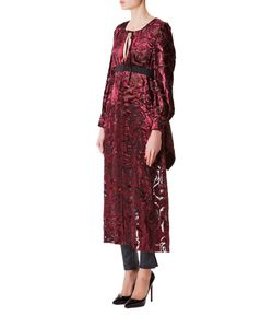 Junya Watanabe | Платье-Накидка Из Вискозы С Принтом