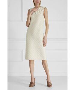 Bottega Veneta | Платье Из Шерсти И Хлопка