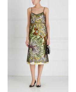 Rochas | Платье Из Хлопка И Шелка