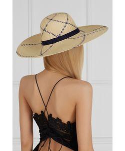 Artesano | Соломенная Шляпа Playa Natural Blue Lotus