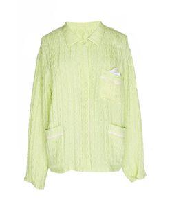 Tzipporah | Салатовая Шелковая Рубашка