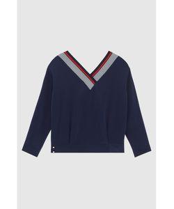 MO&Co   Шелковый Пуловер