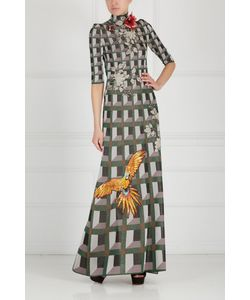 Gucci | Платье С Вышивкой