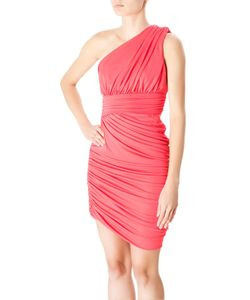 Halston Heritage | Асимметричное Коралловое Платье