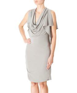 Halston Heritage | Серое Платье Из Вискозы