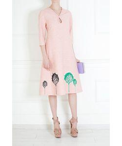 Vika Gazinskaya | Платье Из Шелка И Вискозы