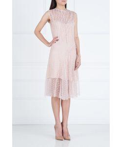 Nina Ricci | Полупрозрачное Платье Из Хлопка И Нейлона