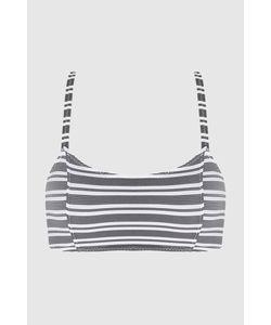 Lisa Marie Fernandez   Кроп-Топ Bws Zip Stripe Bralette