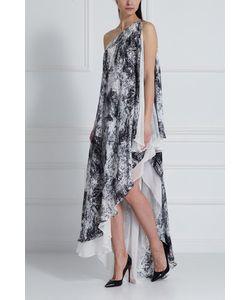 Halston Heritage | Шелковое Платье С Принтом