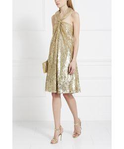 Elie Saab | Шелковое Платье С Пайетками