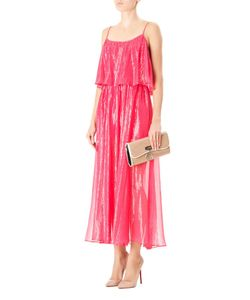 Halston Heritage | Шелковое Платье На Бретелях